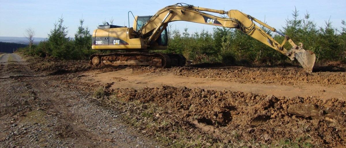 Remise en état de chemins forestiers - Rolot & Fils SA