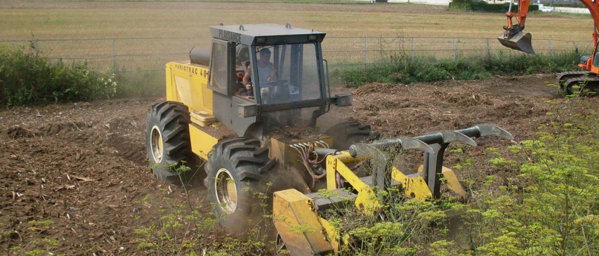 Broyeur sur pneus - Rolot & Fils SA